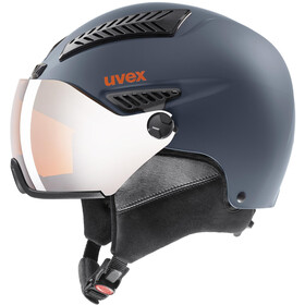 UVEX hlmt 600 Visor Casco, dark slate orange mat